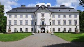 Castillo Vizovice, República Checa fotografía de archivo libre de regalías