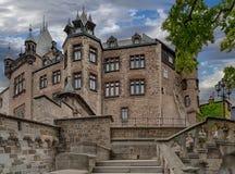 Castillo Wernigerode Fotografía de archivo libre de regalías