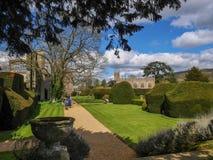 Castillo Winchcombe Cotswolds de Sudeley Foto de archivo libre de regalías