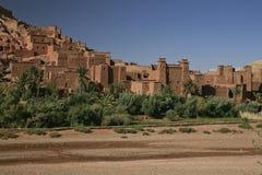 Castillo y ciudad de la terracota Imagen de archivo