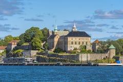 Castillo y fortaleza de Akershus imagen de archivo libre de regalías