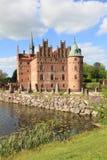 Castillo y jardín daneses Foto de archivo