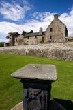 Castillo y jardines, Fife de Aberdour Fotos de archivo