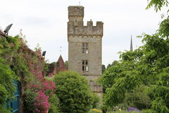 Castillo y jardines Lismore Waterford Irlanda de Lismore Imagen de archivo libre de regalías