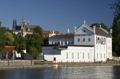 Castillo y museo Kampa de Praga Imagenes de archivo