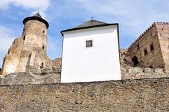 Castillo y palacio, Stara Lubovna, Eslovaquia, Europa Imagen de archivo
