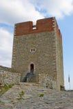 Castillo Zagreb de Medvedgrad imagenes de archivo