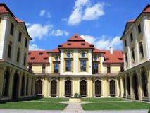 Castillo - Zbraslav Imágenes de archivo libres de regalías