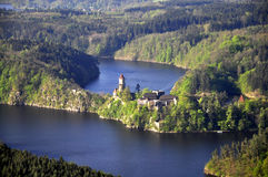 Castillo Zvikov Imagen de archivo libre de regalías