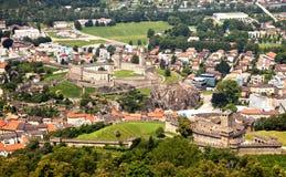Castillos, Bellinzona, Suiza Imagen de archivo