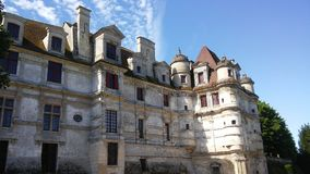 Castillos de Francia: Ambleville Imagenes de archivo