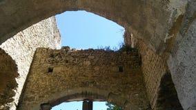 Castillos de Francia: Château-sur-Epte Imágenes de archivo libres de regalías