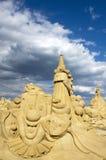 Castillos de la arena Foto de archivo libre de regalías