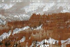 Castillos de la fantasía de la barranca de Bryce Fotos de archivo