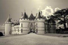 Castillos de Loire Valley fotos de archivo