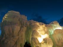 Castillos del hielo Fotos de archivo libres de regalías
