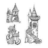 Castillos medievales Imagen de archivo