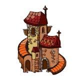 Castillos medievales Fotografía de archivo
