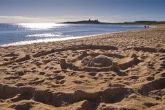 Castillos y castillos de arena Fotos de archivo