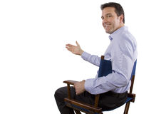 Casting Director Stock Image