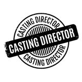 Casting Director rubber stamp Royalty Free Stock Image