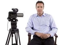 Casting Director Royalty Free Stock Photography