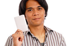 Casting His Vote Royalty Free Stock Photography