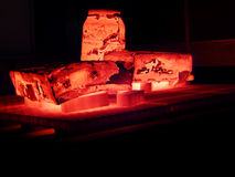 Casting iron after foundry Stock Photography
