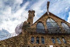 Castle圣伊莎贝尔主教国家森林科罗拉多 免版税图库摄影