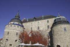 The castle of Örebro Stock Image