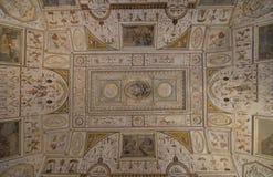 Castle Άγιος Angelo εσωτερικός Παράβλεψη του ανώτατου ορίου Ρώμη Αυτό Στοκ εικόνα με δικαίωμα ελεύθερης χρήσης