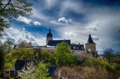 Castle Άλτενμπουργκ Γερμανία Στοκ Εικόνα