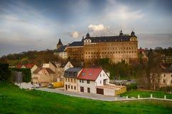 Castle Άλτενμπουργκ Γερμανία Στοκ Εικόνες
