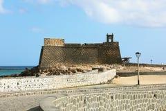 Castle Αγίου Gabriel Arrecife, Lanzarote, Ισπανία Στοκ φωτογραφίες με δικαίωμα ελεύθερης χρήσης