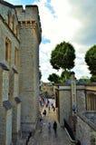 Castle εξωτερικό στο Λονδίνο Στοκ φωτογραφία με δικαίωμα ελεύθερης χρήσης