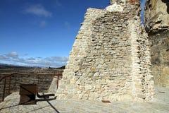Castle και άποψη Ares del Maestrat Στοκ Φωτογραφίες