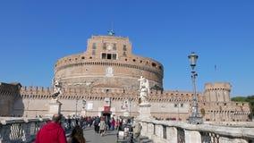 Castle και γέφυρα του SAN Angelo Ρώμη, Ιταλία - Φε