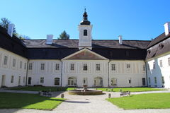 Castle και μουσείο σε Svaty Anton, Σλοβακία Στοκ φωτογραφίες με δικαίωμα ελεύθερης χρήσης