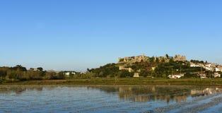 Castle και χωριό Montemor ο Velho, Στοκ εικόνα με δικαίωμα ελεύθερης χρήσης