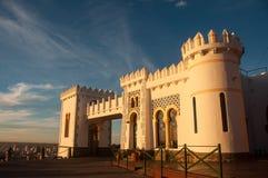Castle που αγνοεί την πόλη Tandil στην Αργεντινή Στοκ Εικόνες