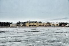 Castle σε Άγιο Πετρούπολη Στοκ φωτογραφία με δικαίωμα ελεύθερης χρήσης
