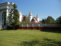 Castle σε Becej, Σερβία Στοκ Φωτογραφία