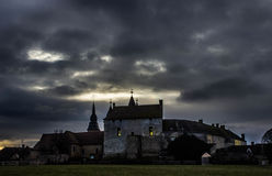 Castle σε Bouloire Στοκ φωτογραφία με δικαίωμα ελεύθερης χρήσης