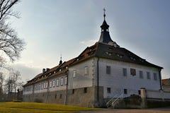 Castle σε Dobrichovice κοντά στην Πράγα Στοκ Φωτογραφία