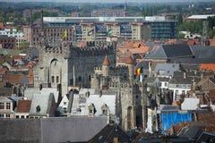 Castle σε Gent Στοκ Φωτογραφίες