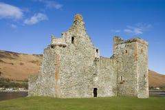 Castle σε Lochranza στη Σκωτία Στοκ Φωτογραφίες