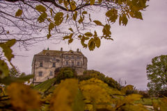 Castle σε Lviv, Olesko Στοκ εικόνες με δικαίωμα ελεύθερης χρήσης