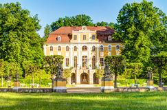 Castle σε Neschwitz, Γερμανία Στοκ εικόνες με δικαίωμα ελεύθερης χρήσης