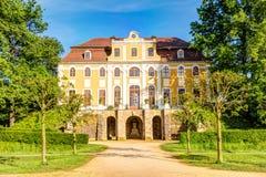 Castle σε Neschwitz, Γερμανία Στοκ Εικόνες