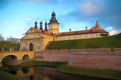 Castle σε Nesvizh, Λευκορωσία Στοκ φωτογραφία με δικαίωμα ελεύθερης χρήσης